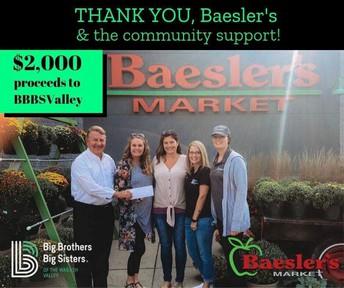 BIG Turnout for BBBS Baesler's Market Ribeye Cookout!
