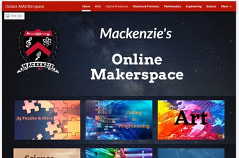 The Online MACKerspace is available all Summer!