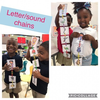 Mrs. Maynard's Pre-K learns their letters and sounds