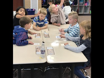 Mrs. Taylor's Class Working Together