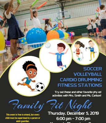 Family Fit Night - 12/5
