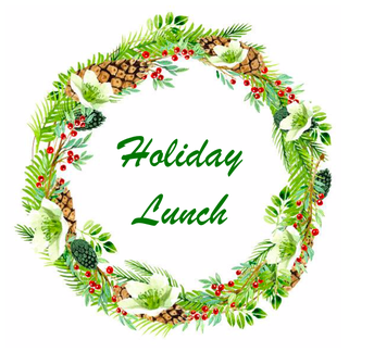 Holiday Lunch is December 13th