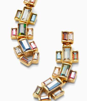Hatley Baguette Earrings Multi