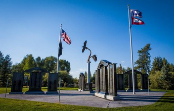 The Veterans' Memorial Park
