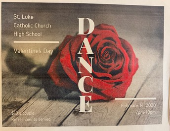 Valentine's Day Dance Feb. 14th 7pm-10pm