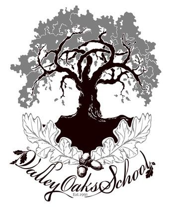 the VOS school logo - oak tree
