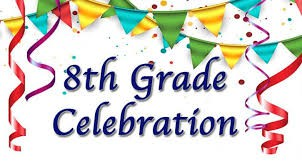 Celebrating our 8th Graders