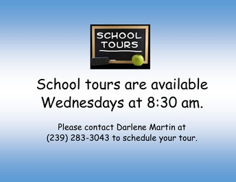 Tours and Student Enrollment dates