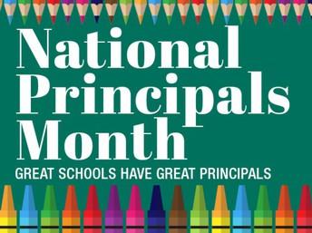 Happy Principal Appreciation Month!