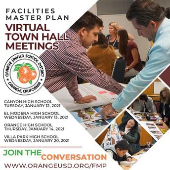 Facilities Master Plan Town Hall Meetings