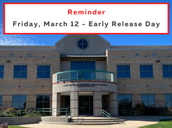 March 12 is Districtwide Early Release Day