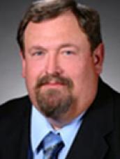 Fred M Hall northwest Iowa Dairy extension specialist headshot