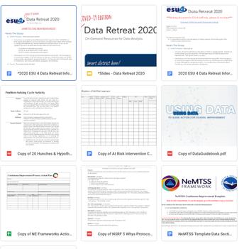 Data Retreat Protocols & Tools