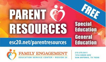 Region 20 ESC's Parent Resources