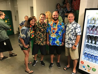 Physical Education and Health Dept. in the Mahalo Spirit!