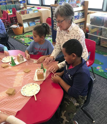 The Annual Kindergarten Gingerbread Houses