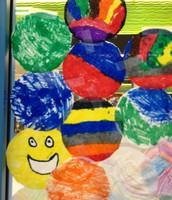 Student dot artwork gallery