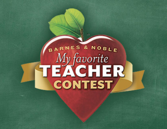 Barnes and Noble-My Favorite Teacher Contest