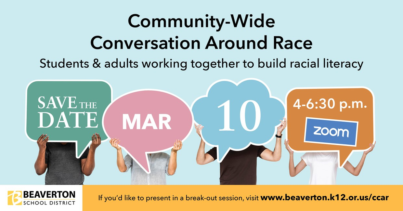 conversation about race English version