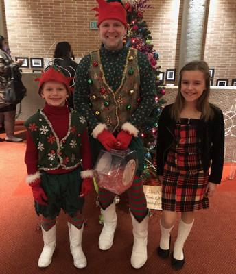Mr. St. Laurent and his little elves