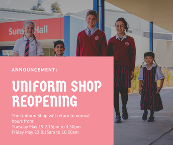 Uniform Shop Appointments