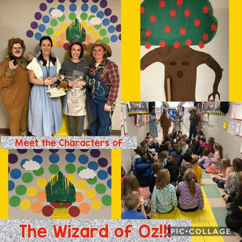1st Grade Hook for Wizard of Oz