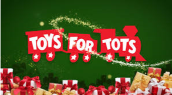 Toys for Tots collection: Now through Dec. 5
