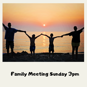 Family Meeting with Rev Mary and Sara