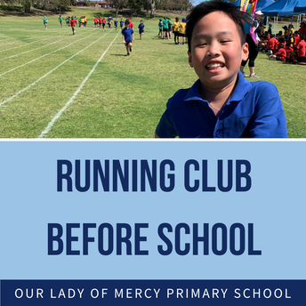 Running Club - Year 1 to 6 welcome to join!