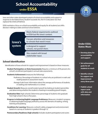 ESSA Fact Sheet - pg 1