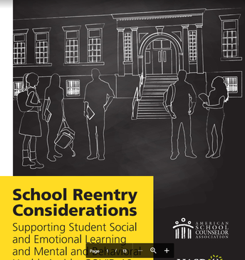 ASCA & NASP Guide to Reentry