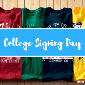 BCA ACADEMIC SIGNING DAY- Wednesday, April 15