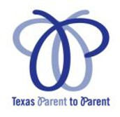 Texas Parent 2 Parent Statewide Conference