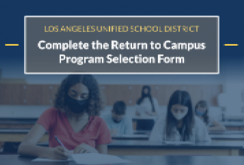 Return to Campus - Program Selection Form