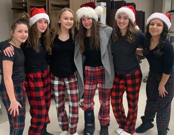 8th Grade Holiday Spirit!
