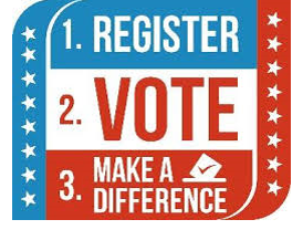REGISTER TO VOTE BY APRIL 4TH