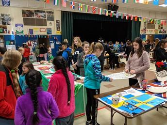 Feria de cultura de 6to grado