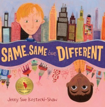 "Book Blurb of the Week- ""Same, Same but Different"""