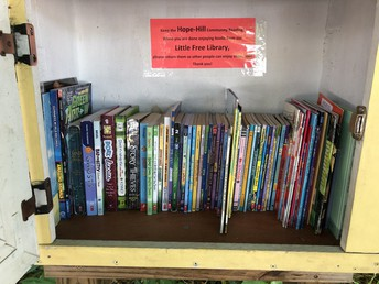 Hope-Hill's Little Free Library