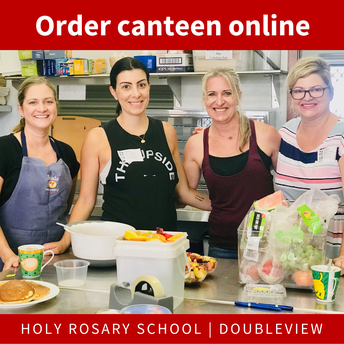 Canteen each Monday, Wednesday and Friday