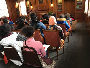 Eagle Scholars learn about the K Plan, a unique curriculum that encourages students to find what they're truly meant to do