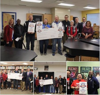 image collage of clemens teacher grant recipients