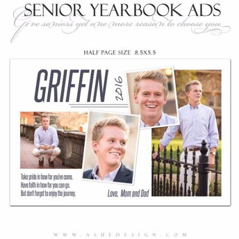 Yearbook senior ads: