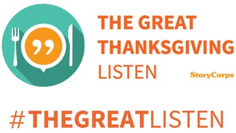 StoryCorps: The Great Thanksgiving Listen