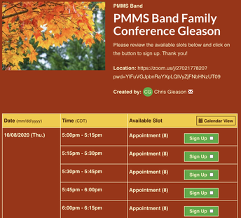 Family Conferences This Week