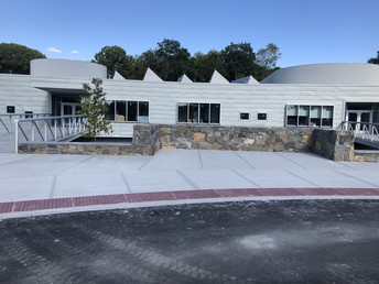 Our Beautiful New Entrance