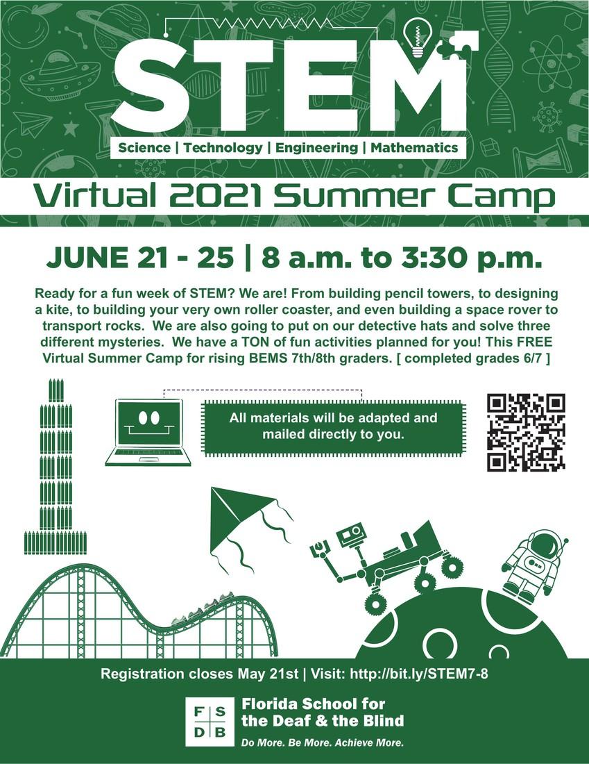STEM flyer June 21-25