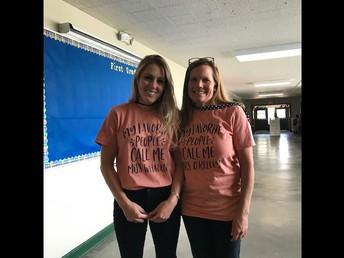 The Dyanmic Duo - Ms. Whalen & Ms. O'Kelley!