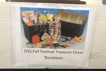 Fall Festival Donations