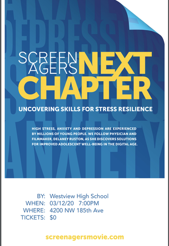 Screenagers Viewing on Thursday